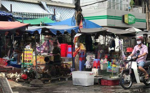 TP Hồ Chí Minh dừng hoạt động các chợ tự phát.